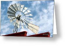 The Wind Wheel Greeting Card