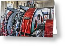 The Winding Engine Greeting Card