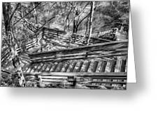The Winding Stairs Greeting Card