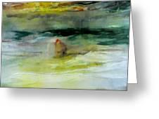 The Windsurfer Greeting Card