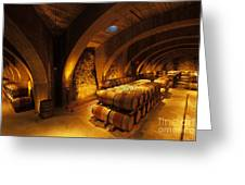 The Wine Cellar Greeting Card
