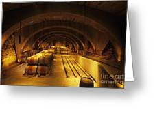 The Wine Room Greeting Card