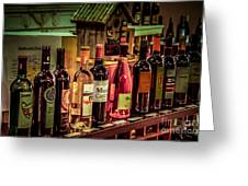 The Wine Shop Greeting Card