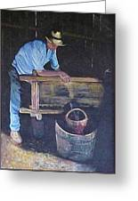 The Winemaker Greeting Card