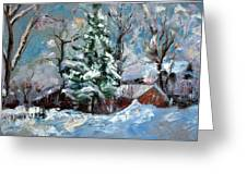 The Winter Greeting Card