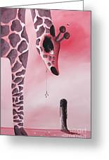 The Wish That Came True By Shawna Erback Greeting Card by Shawna Erback