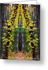The Wishbone Tree Greeting Card