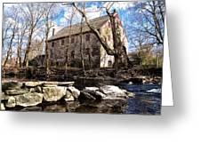 The Wissahickon Creek And Mather Mill Greeting Card