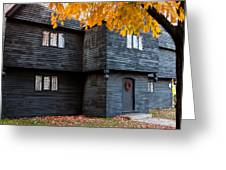 The Witch House Greeting Card