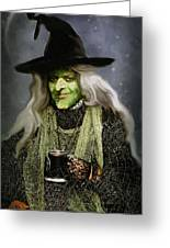 The Witch Of Endor As A Cavalier Greeting Card