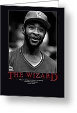 The Wizard Ozzie Smith Greeting Card