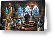 The Wizards Castle Greeting Card