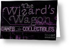 The Wizard's Wagon 2 Greeting Card