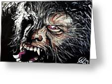 The Wolfman Greeting Card