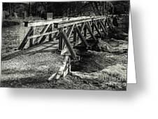The Wooden Bridge Greeting Card