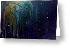 The World Is Melting Greeting Card