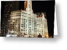 The Wrigley Building-chicago Greeting Card