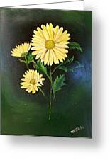 The Yellow Daisy Greeting Card