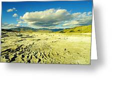 The Yellow Rock Of Yellowstone Greeting Card