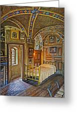 The Yellow Room At Fonthill Castle Greeting Card