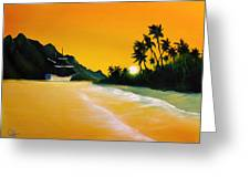 The Yellow Sea Greeting Card
