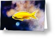 The Yellow Submarine Greeting Card