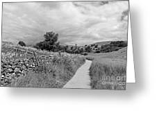 The Yorkshire Dales Uk Greeting Card