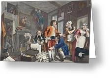 The Young Heir Takes Possession Greeting Card