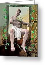 The Young Lover Greeting Card