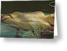 The Young Martyr Greeting Card by Hippolyte Delaroche