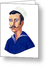 The Young Sailor Greeting Card