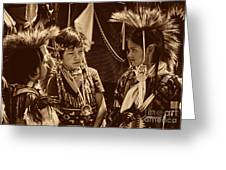 The Young Warriors - 2 Greeting Card
