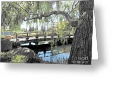The Zen Bridge Greeting Card