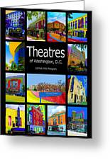 Theatres Of Washington Dc Greeting Card by Jost Houk
