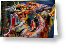 Their Spirit Is Among Us - Nanticoke Powwow Delaware Greeting Card