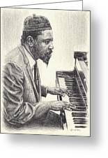 Thelonious Monk II Greeting Card
