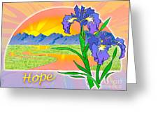 Themes Of The Heart-hope Greeting Card