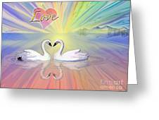 Themes Of The Heart-love Greeting Card