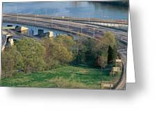 Theodore Roosevelt Bridge, Washington Greeting Card
