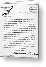 Theodore Roosevelt Cuba Greeting Card