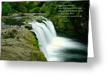 There Are Places Greeting Card