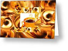 There Is A Coffee At The End Of The Tunnel  Greeting Card