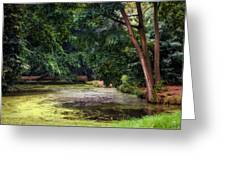 There Is Always A Hope. Park Of De Haar Castle Greeting Card by Jenny Rainbow