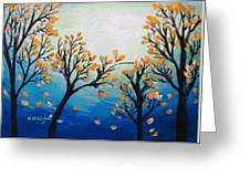 There Is Calmness In The Gentle Breeze Greeting Card