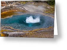 Thermal Pool Greeting Card