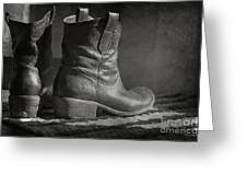 These Boots Greeting Card