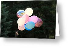 They Are Floating Greeting Card