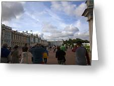 They Come To Catherine Palace - St. Petersburg - Russia Greeting Card