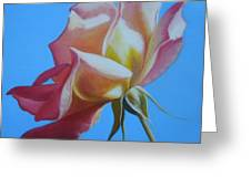 Things Are Coming Up Rosy Greeting Card