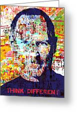 Think Different Greeting Card